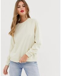 Pieces Natural Sweatshirt