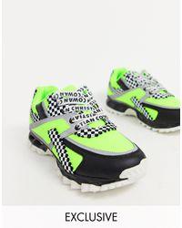 ASOS Green X Christian Cowan Chunky Sneakers