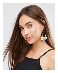 Nylon - Black Statement Earrings - Lyst