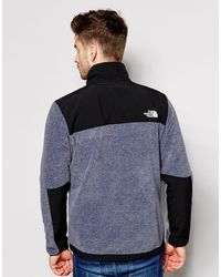 The North Face Gray Denali Ii Fleece Jacket for men