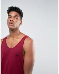 Criminal Damage - Red Maverick Vest for Men - Lyst