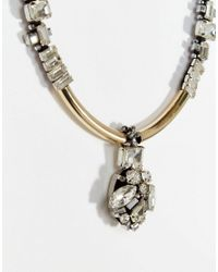 Nali - Metallic Silver Pendant Charm Necklace - Lyst