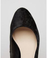 ASOS Black Sweet Velvet Heels