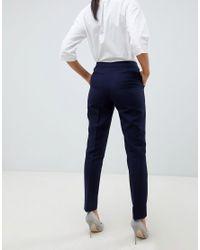 Reiss Blue Tailored Plain Pant