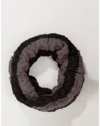 French Connection | Black Cable Snood for Men | Lyst