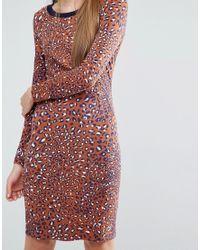 Baum und Pferdgarten - Multicolor Elana Bodycon Dress In Leopard Print - Lyst