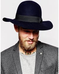 ASOS   Blue Beekeeper Hat With Wide Brim for Men   Lyst
