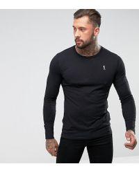 Religion - Black Jersey Long Sleeve Top for Men - Lyst