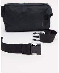 Sac banane en nylon avec deux poches French Connection pour homme en coloris Black