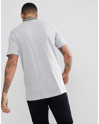 Globe - New Yorker T-shirt With Rib Neckline In Gray for Men - Lyst