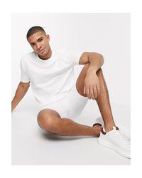 Белый Спортивный Костюм С Шортами ASOS для него, цвет: White