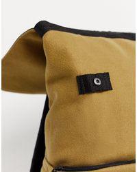 Unrivalled Supply - Zaino color cammello testurizzato con etichetta con logo di ASOS in Multicolor da Uomo