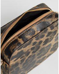 ASOS - Multicolor Leopard Effect Cross Body Bag - Lyst