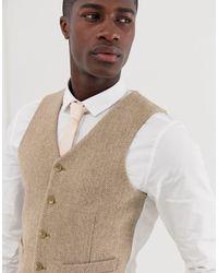 ASOS Multicolor Wedding Slim Suit Waistcoat for men