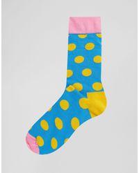 HS by - Lot Happy Socks pour homme en coloris Blue