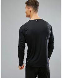 PUMA Black Running Long Sleeve Top for men