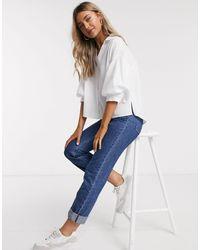 Camisa Pull&Bear de color White