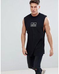 DIESEL Black T-lucas-co-ab All Nighter Tank Top for men