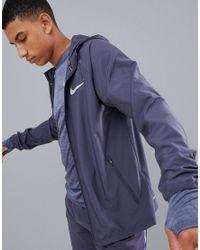 Nike Gray Essentials Jacket In Grey 856892-081 for men