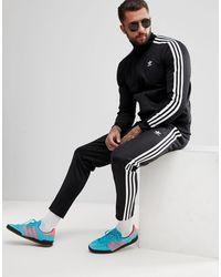 Adidas Originals Black Adicolor Beckenbauer Sweatpants for men