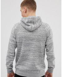 Sweat-shirt à fermeture éclair Only & Sons pour homme en coloris Gray