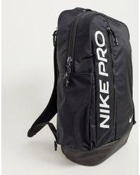Черный Рюкзак Pro Nike для него, цвет: Black