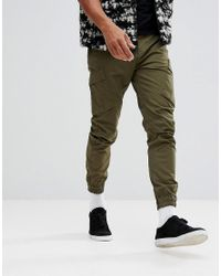 Timberland   Tapered Cargo Pants In Green for Men   Lyst