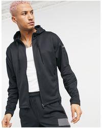 Худи Черного Цвета Из Технологичной Ткани Adidas Yoga-бежевый Adidas Originals для него, цвет: Black