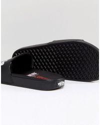 Vans - X Peanuts Sliders In Black V004kioqs for Men - Lyst