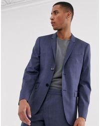Calvin Klein Blue Slim Fit Suit Jacket for men