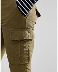 New Look Green Cargo Trousers In Khaki for men