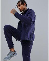 Giacca della tuta con logo di Calvin Klein in Blue da Uomo