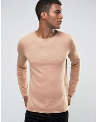 HUGO   Natural By Boss Sweater Cotton Cashmere Silk for Men   Lyst
