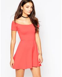 Motel - Red Catalina Dress - Lyst