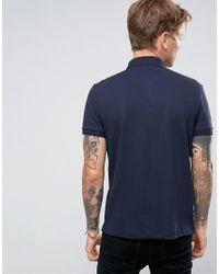 BOSS Orange - Blue By Hugo Boss Pavlik Logo Polo Stretch Pique for Men - Lyst