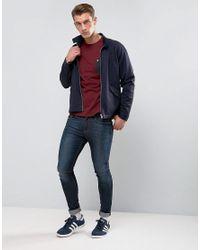 Lyle & Scott Red Contrast Pocket T-shirt Burgundy for men