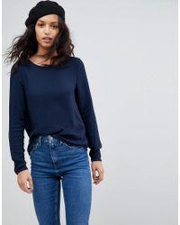 Vero Moda Blue Long Sleeve T-shirt