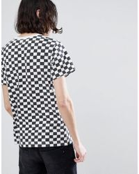 Levi's - White Levi's Checkerboard T-shirt for Men - Lyst