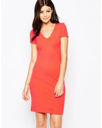 French Connection | Blue Marie Stretch Dress | Lyst