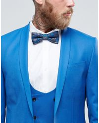 Noose And Monkey - Blue Bow Tie for Men - Lyst