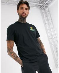 Черная Футболка С Логотипом -черный Adidas Originals для него, цвет: Black