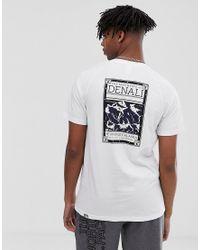 The North Face – North Faces – es T-Shirt in White für Herren
