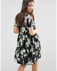Vero Moda - Black Bohemian Dresses - Lyst