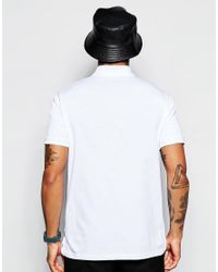 Love Moschino - White Logo Polo Shirt for Men - Lyst