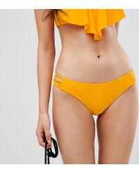 Плавки-бикини С Ремешками По Бокам Pimkie, цвет: Orange