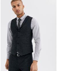 Темно-серый Жилет Twisted Tailor для него, цвет: Gray