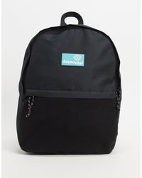 Черный Рюкзак Из Нейлона И Флиса Asos Daysocial-черный Цвет ASOS для него, цвет: Black