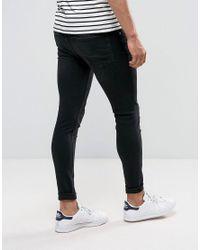 Cheap Monday - Him Spray Jeans Pistol Black for Men - Lyst