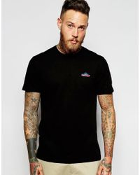 Penfield | Black T-shirt With Mountain Logo Exclusive for Men | Lyst