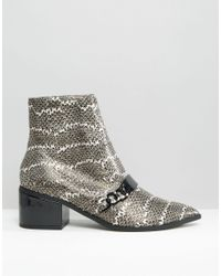 ASOS - Multicolor Rasqual Pointed Ankle Boots - Lyst